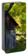 An Old Barn Near Indian Creek, California Portable Battery Charger
