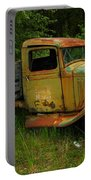 An Old Flatbed Portable Battery Charger by Jeff Swan