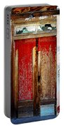 An Old Red Door Portable Battery Charger