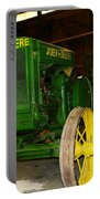An Old Restored John Deere Portable Battery Charger