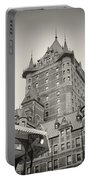 Analog Photography - Chateau Frontenac Quebec Portable Battery Charger
