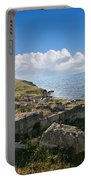Ancient Archaeological Site On The Coast Of Crimea Ukraine Portable Battery Charger