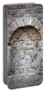 Ancient Bricked Up Window  Portable Battery Charger