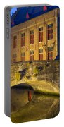 Ancient Bridge In Bruges  Portable Battery Charger