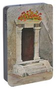 Ancient  Doorway  Portable Battery Charger