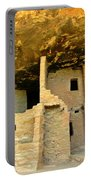 Ancient Pueblo Dwelling Ruins Portable Battery Charger