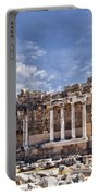 Ancient Ruins In Side Turkey Portable Battery Charger