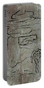 Ancient Wall Art Portable Battery Charger