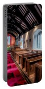 Ancient Welsh Church Portable Battery Charger by Adrian Evans