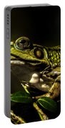 And This Frog Can Sing Portable Battery Charger by Bob Orsillo
