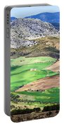 Andalucia Landscape In Spain Portable Battery Charger