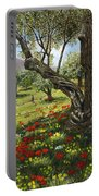 Andalucian Olive Grove Portable Battery Charger