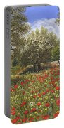 Andalucian Poppies Portable Battery Charger