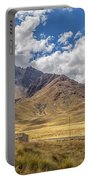 Andes Mountains - Peru Portable Battery Charger