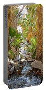Andreas Creek In Andreas Canyon In Indian Canyons-ca Portable Battery Charger