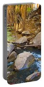 Andreas Creek In Indian Canyons-ca Portable Battery Charger