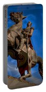 Andrew Jackson And New Orleans Saints Portable Battery Charger