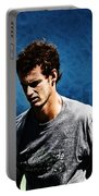 Andy Murray Portable Battery Charger by Nishanth Gopinathan