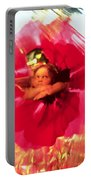 Angel And Poppy Portable Battery Charger by Katherine Fawssett