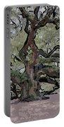 Angel Oak Digital Art Portable Battery Charger