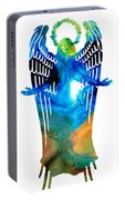 Angel Of Light - Spiritual Art Painting Portable Battery Charger