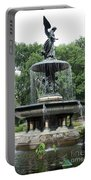 Angel Of The Waters Fountain Portable Battery Charger