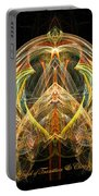 Angel Of Transformation And Change Portable Battery Charger