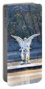 Angel On A Misty Lake  Portable Battery Charger