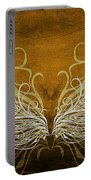 Angel Wings Gold Portable Battery Charger