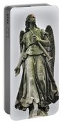Angel With Trumpet Portable Battery Charger