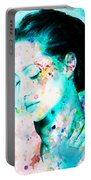 Angelina Jolie Heart And Soul Portable Battery Charger
