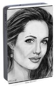 Angelina Jolie In 2005 Portable Battery Charger