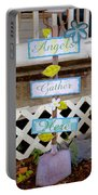 Angels Gather Here Portable Battery Charger