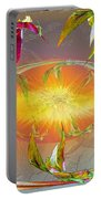 Angels Gather To The Love Of The Lord Portable Battery Charger
