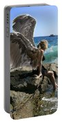 Angels- I'm Watching Over You Portable Battery Charger