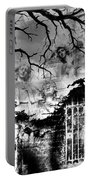 Angels In Gothica Bw Portable Battery Charger
