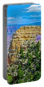 Angel's Window At Cape Royal On North Rim Of Grand Canyon-arizona Portable Battery Charger