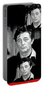 Angie Dickinson Robert Mitchum Collage Young Billy Young Set Old Tucson Arizona 1968-2013 Portable Battery Charger