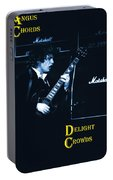 Angus Chords Delight Crowds In Blue Portable Battery Charger