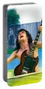 Angus Young Of A C D C At Day On The Green Monsters Of Rock  7-21-79  Portable Battery Charger