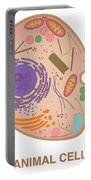 Animal Cell, Illustration Portable Battery Charger