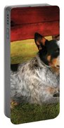 Animal - Dog - Always Faithful Portable Battery Charger by Mike Savad