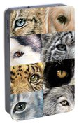 Animal Eyes Portable Battery Charger