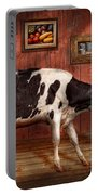 Animal - The Cow Portable Battery Charger by Mike Savad