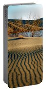 Animal Tracks In The Sand Portable Battery Charger