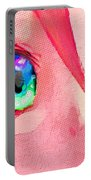Anime Girl Eyes Red Portable Battery Charger