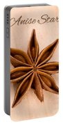 Anise Star Illicuim Verum Single Text Portable Battery Charger