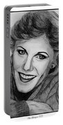 Anne Murray In 1983 Portable Battery Charger by J McCombie