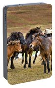 Annual Horse Round Up-laufskalarett Portable Battery Charger