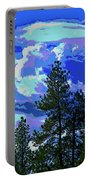 Another Fine Day On Planet Earth Portable Battery Charger